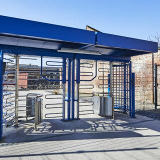 Fietstourniquet NMBS Mechelen binnenaanzicht